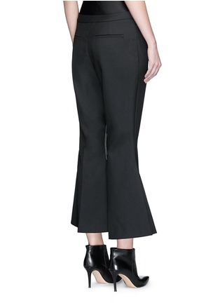 Back View - Click To Enlarge - Ellery - 'Mazur' inseam stitch kick flare pants