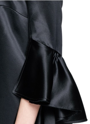 Detail View - Click To Enlarge - Ellery - 'Stanley' ruffle sleeve off-shoulder top