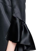 'Stanley' ruffle sleeve off-shoulder top