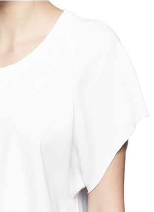 Detail View - Click To Enlarge - Ellery - 'Escapade' classic crepe raglan T-shirt