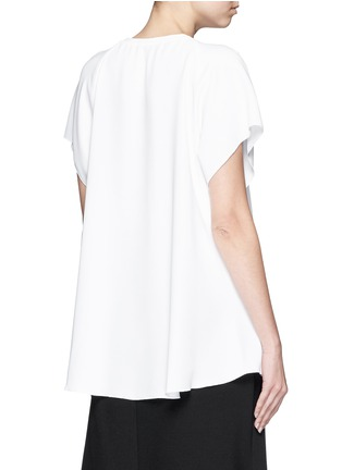 Back View - Click To Enlarge - Ellery - 'Escapade' classic crepe raglan T-shirt