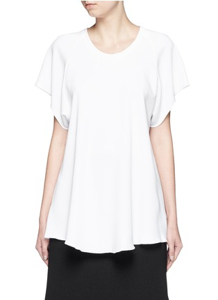 Main View - Click To Enlarge - Ellery - 'Escapade' classic crepe raglan T-shirt
