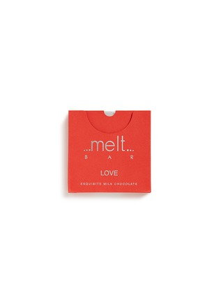 Main View - Click To Enlarge - Melt Chocolate - 'Love' milk chocolate bar