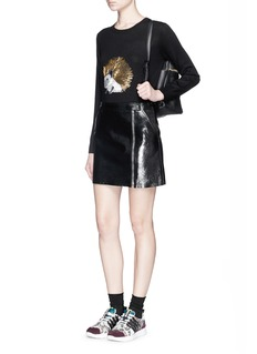 MARKUS LUPFER'Hedgehog Embellished' Natalie sweater