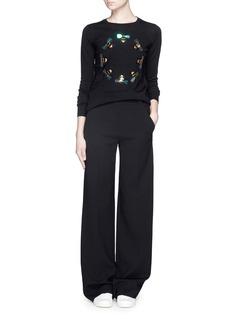 MARKUS LUPFER'Bee Ring Embellished' Emma sweater