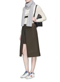 MARKUS LUPFER'White Lara Lip' sequin Natalie sweater