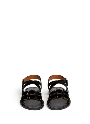 Figure View - Click To Enlarge - Marni - Jewel pony hair sandals