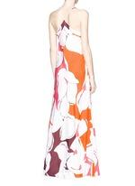 'Barths' floral print silk maxi dress