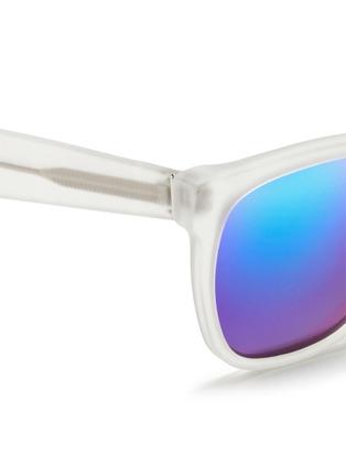 细节 - 点击放大 - SUPER - CLASSIC中性款半透明镜框太阳眼镜