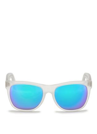 首图 - 点击放大 - SUPER - CLASSIC中性款半透明镜框太阳眼镜