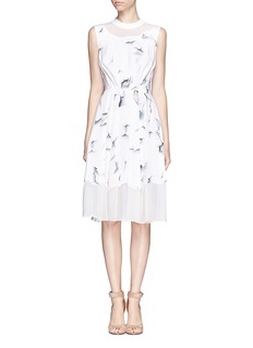 3.1 PHILLIP LIM Peeled paint print dress