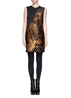 3.1 PHILLIP LIM Landscape motif shift dress
