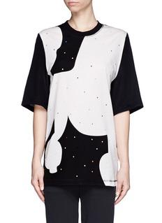 3.1 PHILLIP LIMPoodle print oversized T-shirt