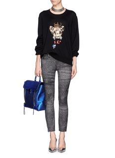MARKUS LUPFER 'Leo' sequin sweater