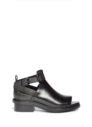 Main View - Click To Enlarge - 3.1 Phillip Lim - 'Ferdinand' cutout leather ankle boots
