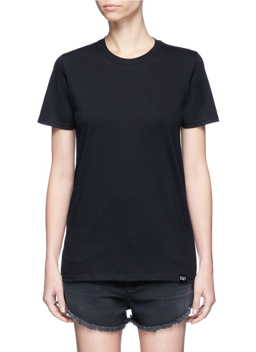 Bad Girls Club print cotton T-shirt by Olive and Frank