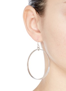 Philippe Audibert 'Hoops' silver plated earrings