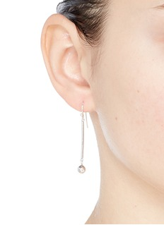 Philippe Audibert 'Brenna' linear bar bead drop earrings
