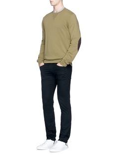 3x1'M5' frayed cuff skinny jeans