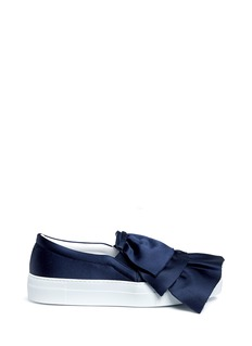 Joshua Sanders Tiered ruffle slip-on sneakers