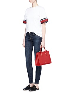 Strathberry'The Strathberry Midi' leather tote