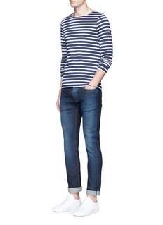 Denham'Razor' slim fit crystal wash selvedge jeans