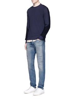 Denham 'Razor' slim fit ripped jeans