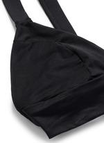 'Neutra' cutout triangle bralette swim top