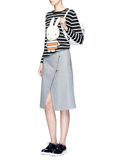 Chinti And Parker x Miffy 'Miffy Stripe' cashmere sweater