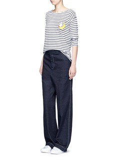 Chinti And Parkerx Miffy 'Miffy Sailor' stripe cotton T-shirt