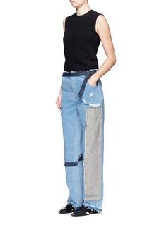 TomeDenim patchwork jeans