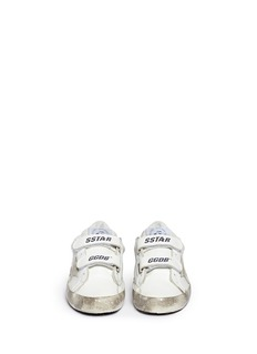 Bonpoint x Golden Goose 'Tennis' star patch leather kids sneakers