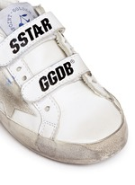 x Golden Goose 'Tennis' star patch leather toddler sneakers