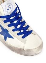 x Golden Goose 'Tennis' suede trim canvas toddler sneakers
