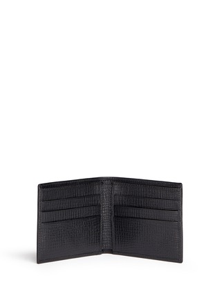 Figure View - Click To Enlarge - Dolce & Gabbana - Designer appliqué leather bifold wallet