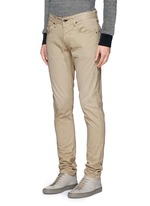 'Fit 2' brushed cotton twill pants