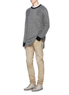rag & bone'Fit 2' brushed cotton twill pants