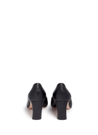 Back View - Click To Enlarge - Nicholas Kirkwood - 'Maeva' faux pearl heel leather pumps