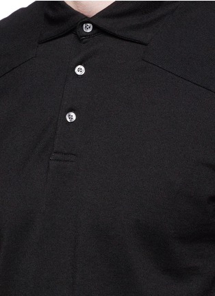 Detail View - Click To Enlarge - Scotch & Soda - Garment dyed piqué polo shirt