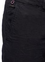 'Stuart' garment dyed slim fit chinos