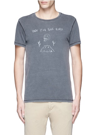 Main View - Click To Enlarge - Scotch & Soda - 'Rocker' washed cotton T-shirt