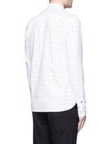 Signature print cotton shirt