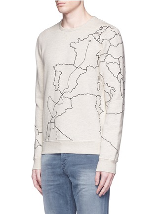 Front View - Click To Enlarge - Scotch & Soda - Embroidered sweatshirt