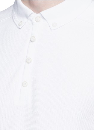 Detail View - Click To Enlarge - Scotch & Soda - 'Home Alone' cotton piqué polo shirt