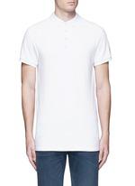 'Home Alone' cotton piqué polo shirt