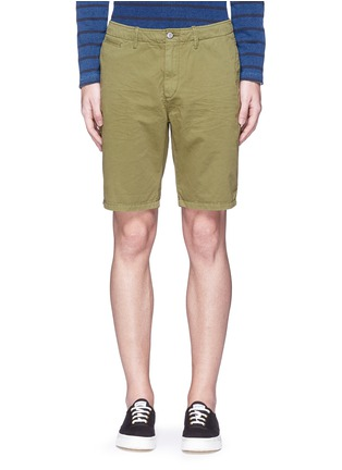 Scotch & Soda - Garment dyed cotton shorts
