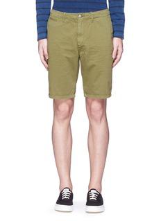 Scotch & SodaGarment dyed cotton shorts
