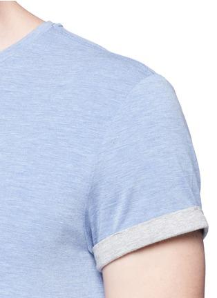 Detail View - Click To Enlarge - Scotch & Soda - Logo print T-shirt