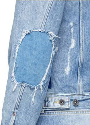 Detail View - Click To Enlarge - Scotch & Soda - Denim trucker jacket