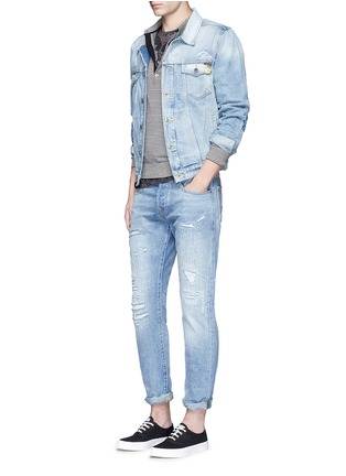 Figure View - Click To Enlarge - Scotch & Soda - Denim trucker jacket